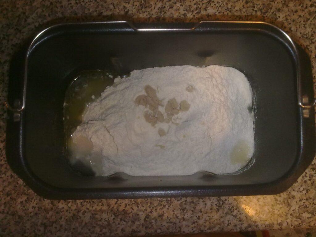 Preparazione del Pane Bianco